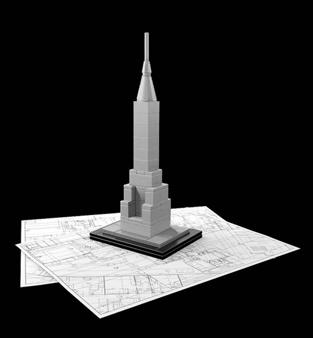Blandesign Lego Architecture