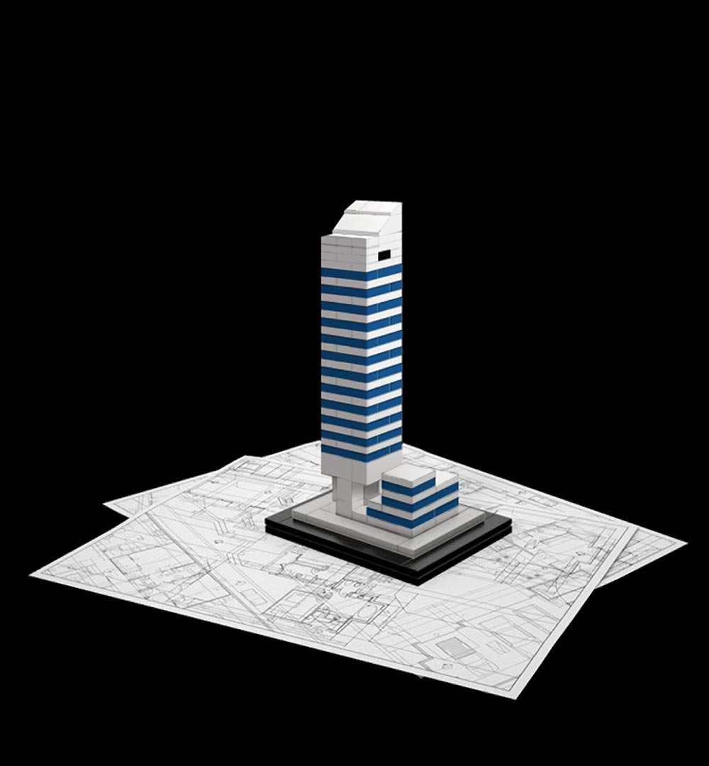 Blandesign lego architecture for Lego architecture new york